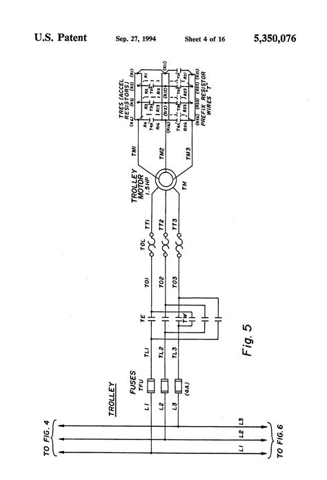 Pendant Switch Wiring Diagram by Brevet Us5350076 Bridge Crane Electric Motor