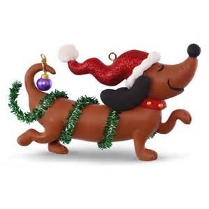 2016 wiener dachshund hallmark keepsake ornament hooked on hallmark ornaments