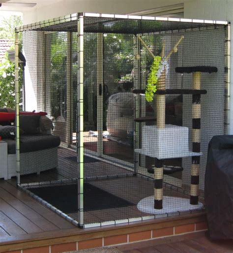 12 best images about patio cat enclosures on
