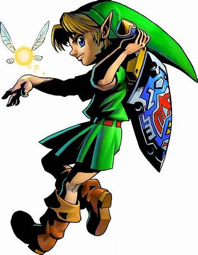 Link Zelda Legend Mask Loz Hq Render