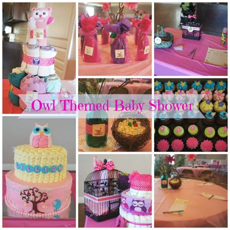 owl themed baby shower decorations  diy ideas