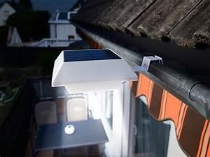 Wandlampe Ohne Kabel : lunartec dachrinnen beleuchtung solar led ~ A.2002-acura-tl-radio.info Haus und Dekorationen