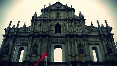 Paul Macau St Monument Ruins Edited Apostle