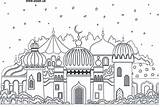 Colouring Mosque Pages Adabi Printable Coloring Islamic Shahada Children Arabic London Printables Activities Books sketch template
