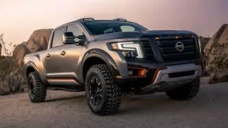 nissan truck 2016 nissan titan warrior concept chasseur de raptor