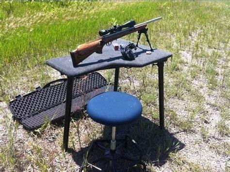 diy portable shooting bench youtube