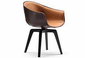 Ginger chair by roberto lazzeroni for Fauteuil pivotant