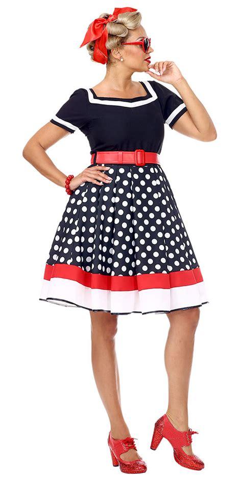 er jahre kostuem damen rockabilly kleid mit petticoat
