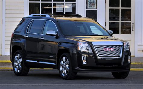 first 2013 gmc terrain denali automobile magazine