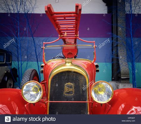 Delahaye Fire Truck Type 112ps 1929 French Vintage Car