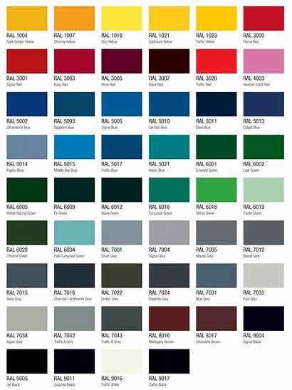Ral Colour Chart Stampcrete Colours Concrete Range