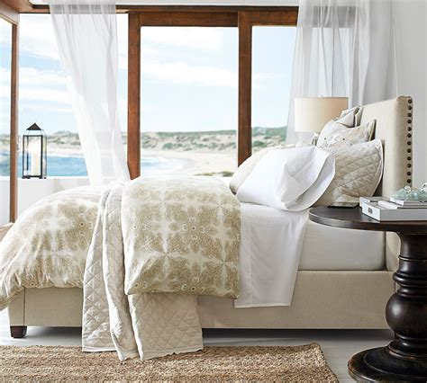 pottery barn for your registry how to make the bed pottery barn