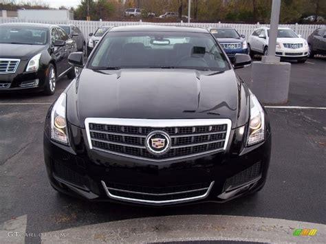 Black Raven 2013 Cadillac Ats 3.6l Luxury Exterior Photo