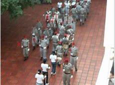 banda del colegio militar almirante colon parte militar