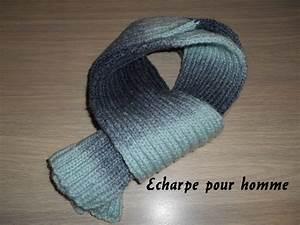 Echarpe Homme Tricot : comment tricoter un echarpe pour homme ~ Melissatoandfro.com Idées de Décoration