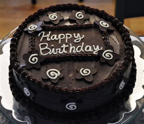 Happy Birthday New Black Forest Cake