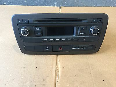 seat ibiza 6j radio seat ibiza radio cd player radio cd player for sale new and used
