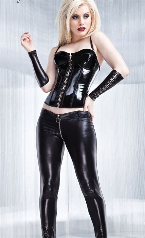 Shiny wetlook club leggings idea