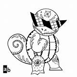 Pokemon Squirtle Coloring Pages Cool Printable Squad Drawing Sheets Sheet Getcolorings Pokeman Adults Thanksgiving Sketchite Wartortle Blastoise sketch template