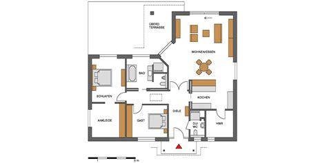 Grundriss Winkelbungalow Mit Garage by Bungalow Grundrisse In Verschiedenen Gr 246 223 En
