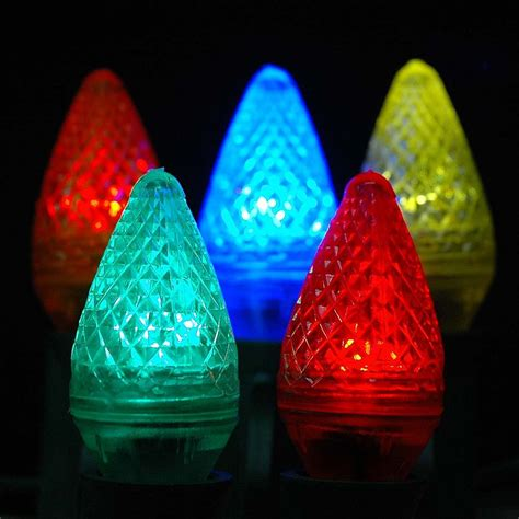 c7 colored light bulbs multi led c7 replacement christmas bulbs and ls