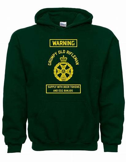 Royal Jackets Grumpy Rifleman Hoodie Infantry