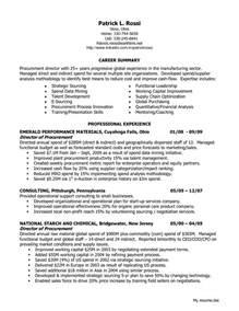 purchasing resume exles director of procurement resume sales director lewesmr