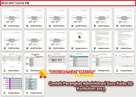 Sama halnya dengan kelas lain. Download Contoh Perangkat Administrasi Guru Kelas SD ...