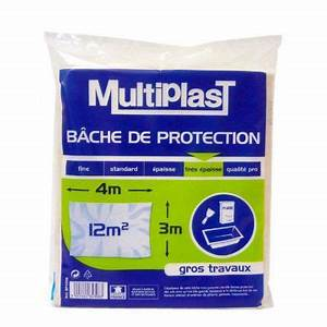 Bache De Protection Castorama : b che de protection multiplast tr s paisse gros travaux 3 ~ Melissatoandfro.com Idées de Décoration