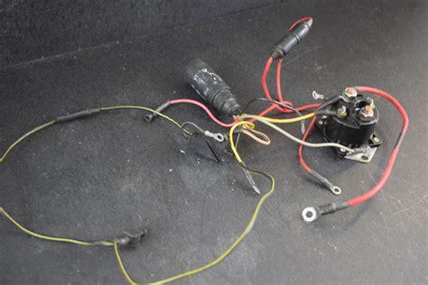 Mercury Solenoid Wiring by 1988 93 Mercury Wiring Harness Starter Solenoid 43443a3