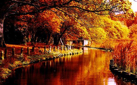 Fall Wallpapers River  Hd Desktop Wallpapers  4k Hd