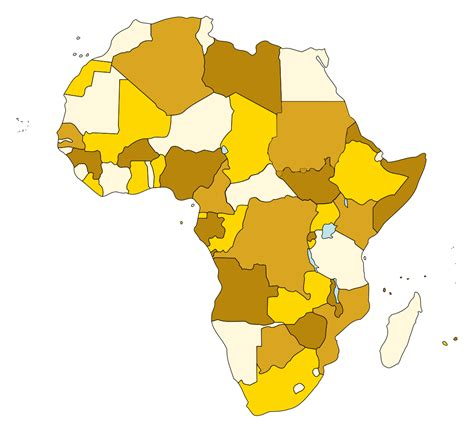 Fileafrica Just Countriessvg  Wikimedia Commons