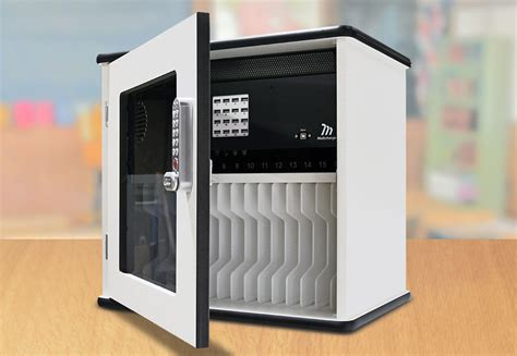 tablet storage and charging cabinet charge and sync cabinet for 16 ipads tablets multicharge