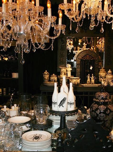 gothic halloween decorating ideas  inspire  feed
