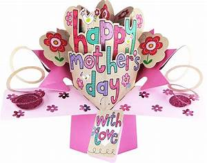 Happy Mother's Day / Lettering - Mother's Day Pop Up Card ...