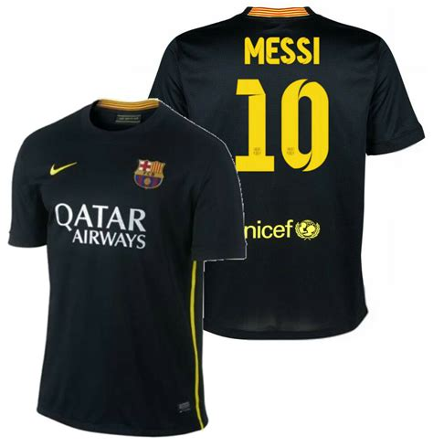 Nike Fc Barcelona Lionel Messi Youth Third Jersey 201314