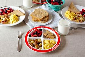 Healthy Balanced Breakfast with MyPlate | Healthy Ideas ...