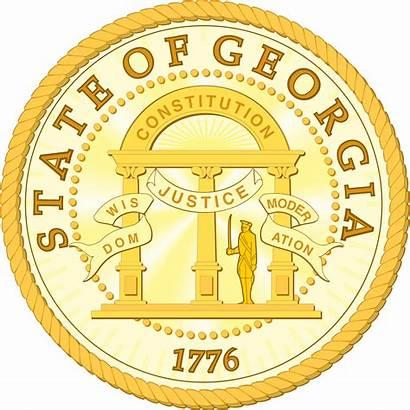 Georgia Seal State Ga Svg Laws Stateseal