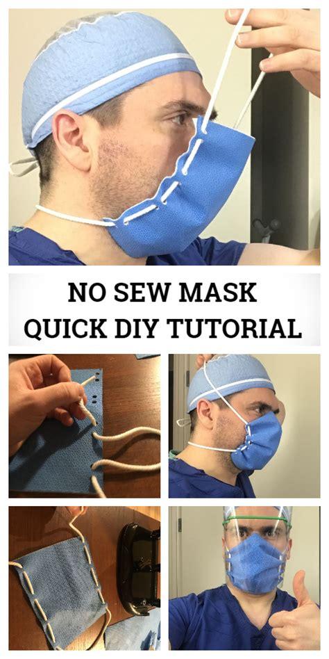 easy face shield mask diy tutorial video diy tutorials