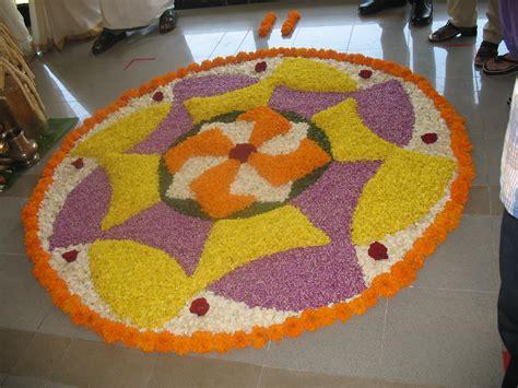 pics obsession flower rangoli designs