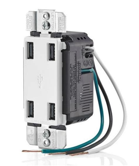 amp high speed  port usb charger usbp leviton