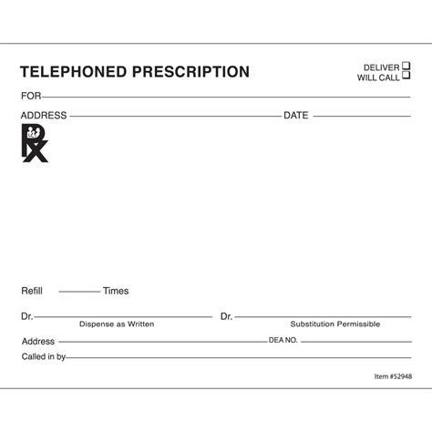 prescription templates doctor pharmacy medical