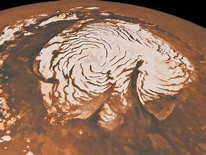 Scientists find evidence of ice age at Mars' north pole ...