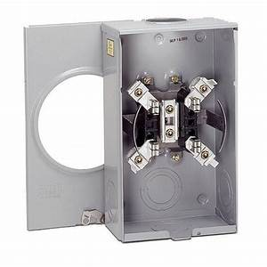 Eaton Single Meter Socket 200 Amp Top Feed Ringless Horn Bypass Boxed Part New 782114582626