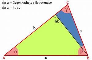 Winkelfunktion Berechnen : sinussatz und dreieck berechnen eines dreiecks ~ Themetempest.com Abrechnung