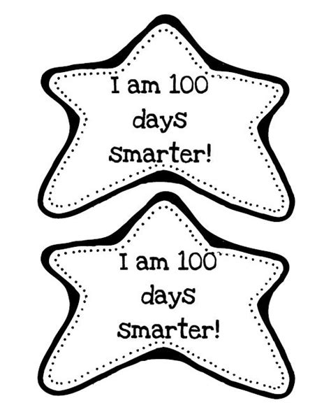 8 Best Images Of 100 Days Of School Free Printables