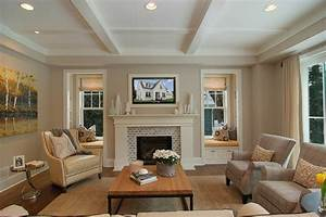 Great Neighborhood Homes Transitional Family Room