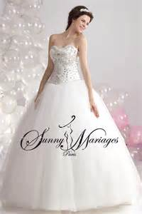 robe de mariã e princesse strass robe de mariee princesse et bustier strass sur mesures mariage