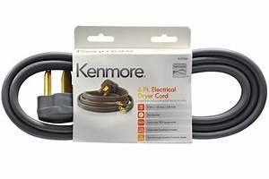 Kenmore 99920 57000 3-prong 6 U0026 39  Flat Dryer Cord