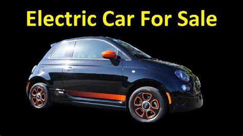 fiat electric car    lease   sale cheap